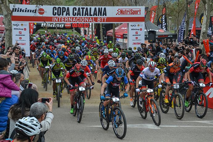 La Copa Catalana Internacional de BTT Biking Point 2018 arrancará en Banyoles