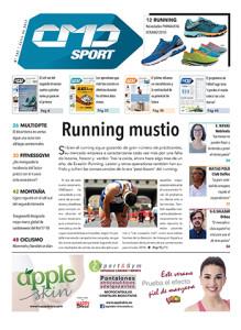 Portada de la edición 392 de la revista impresa CMDsport correspondiente a julio de 2017. El anunciante de dicha portada es la marca Happy Dance.