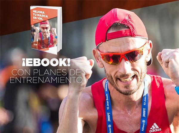 Las claves de Carles Castillejo para mejorar la marca en un 10k, en un eBook