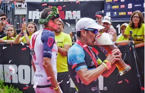 Eneko Llanos firma un meritorio segundo puesto en el Ironman de Austria