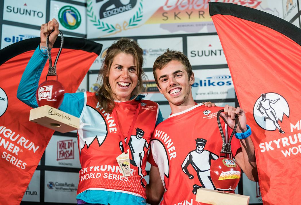 Laura Orgué y Jan Margarit se imponen en la Dolomites Skyrace