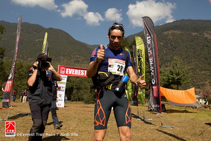 Luis Alberto Hernando vuelve a por todas a la Everest Trail Race