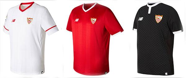 El Sevilla muestra sus nuevas equipaciones con dedicatoria a Antonio Puerta