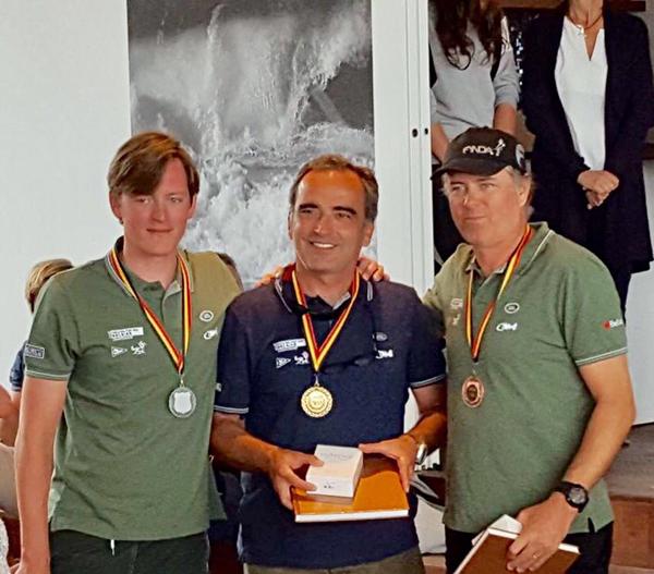 Quim Esteba gana por segunda vez el Campeonato de Bélgica