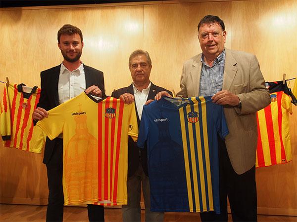 Base Benitosports presenta la nueva equipación del UE Sant Andreu