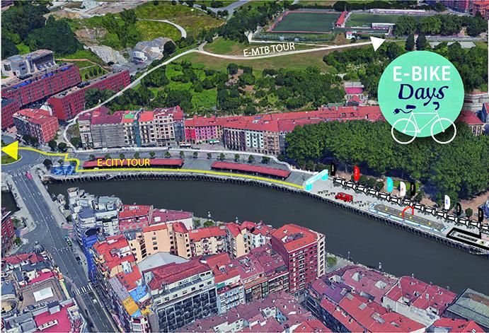 Bilbao acogerá la segunda edición de los e-Bike Days