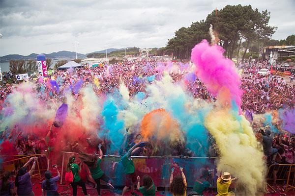 Holi Run cambia de nombre y anuncia nuevos eventos para 2018