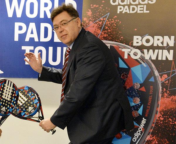 """Adidas Pádel: """"Las marcas cada vez aglutinan más poder en el mercado de pádel"""""""