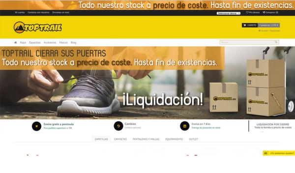 El cese de Toptrail engrosa la lista de cierres de tiendas de deporte en Madrid