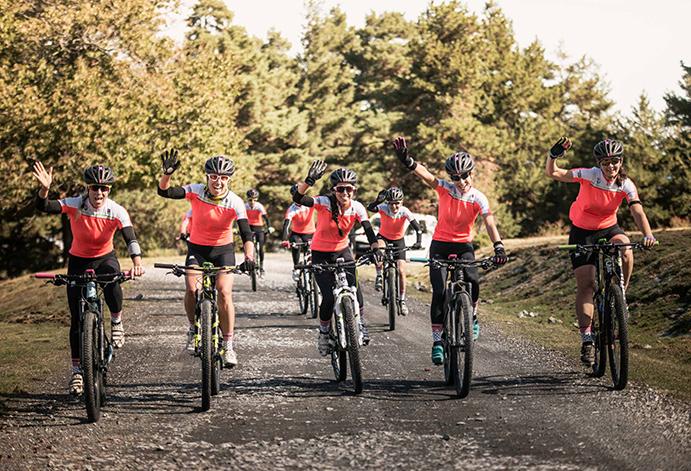 Éxito del Clàudia Galicia MTB Polar Camp