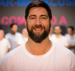 Claudio Liska, copropietario de Arges Fitness