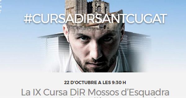 La 9ª Cursa DiR- Mossos d'Esquadra Sant Cugat será doblemente solidaria