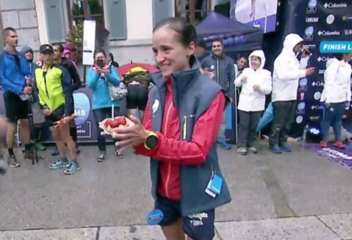 Eli Gordón, primera victoria española en el Ultra Trail du Mont-Blanc