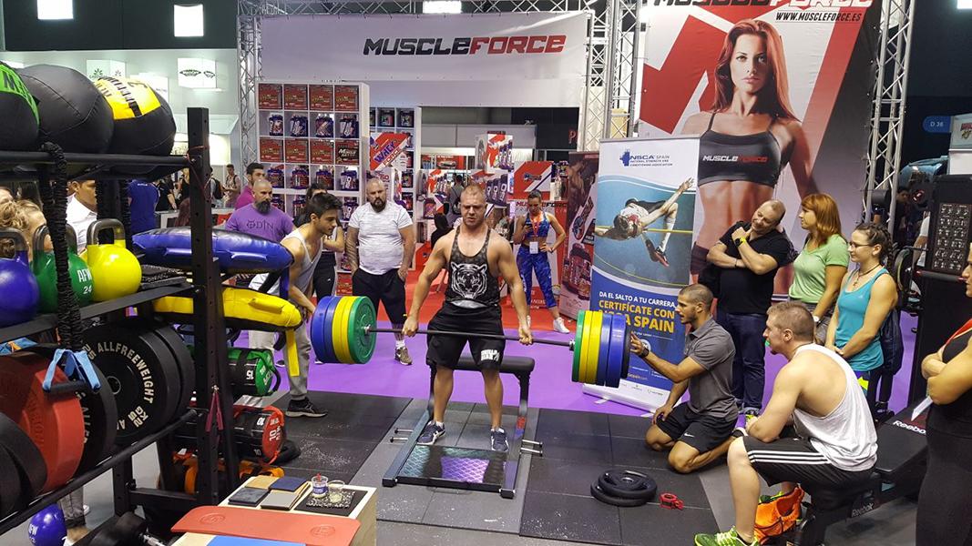 Oss Fitness seguirá en Arnold Classic Europe