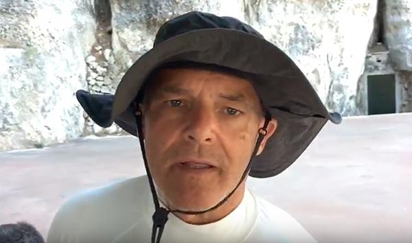 El 'mensaje de clausura' del Campeonato de España de Juan Carlos Santos