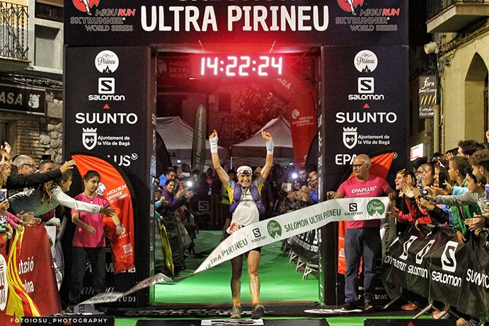 Maite Maiora triunfa en la distancia reina de la Ultra Pirineu