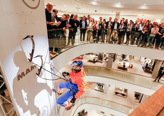 Mammut presenta la cuarta generación de 'Eiger Extreme' por todo lo alto