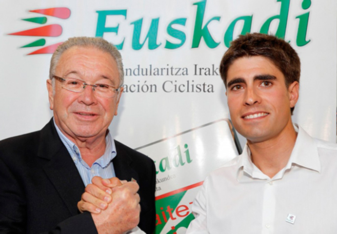 Mikel Landa releva a Miguel Madariaga como presidente de la Fundación Euskadi