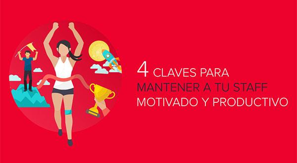 4 claves para motivar a los trabajadores y fidelizar clientes