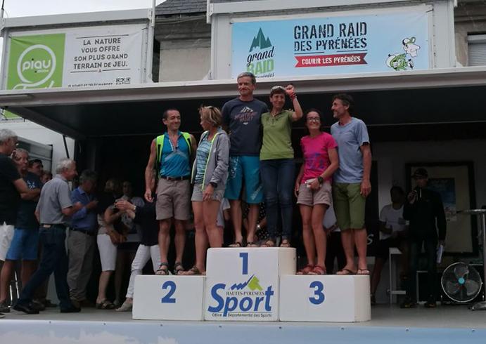 La 'Súper Abuela' vence en categoría máster del Grand Raid des Pyrénées