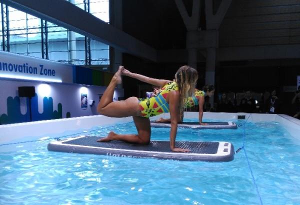 Aerobic & Fitness presentó varias novedades en la feria Piscina & Wellness