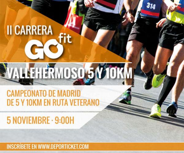 La II Carrera Go Fit Vallehermoso se propone superar los 3.000 corredores