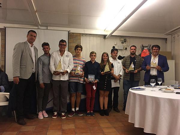 El Club Marítimo Cubelles celebra su Nit de la Vela