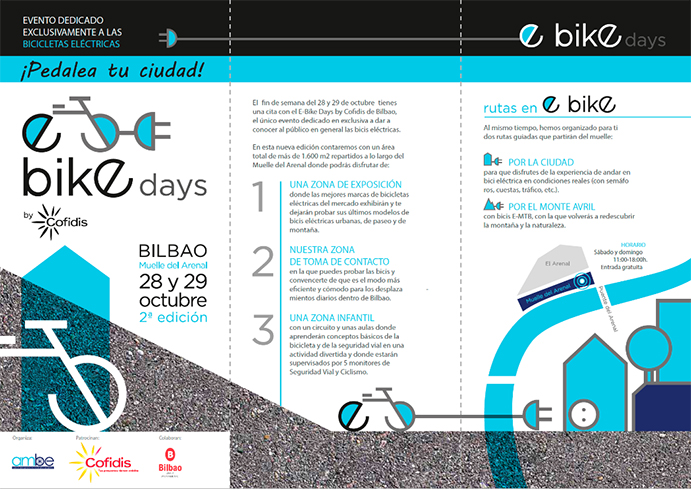 Los E-Bike Days de Bilbao calientan motores