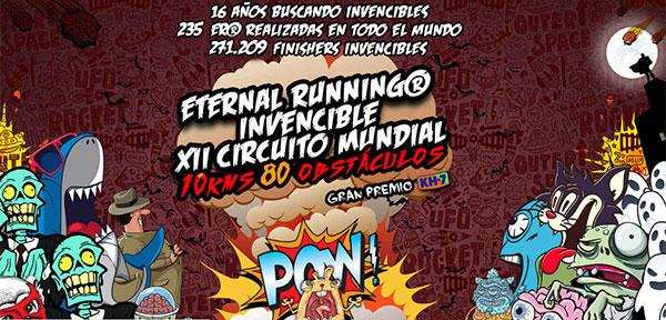 El circuito Eternal Running Invencible, suspendido por la situación en Cataluña