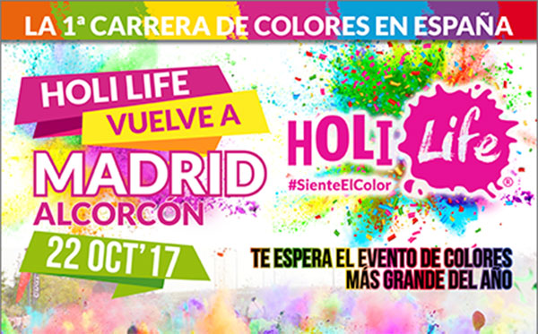 Holi Life regresa a Alcorcón el 22 de octubre