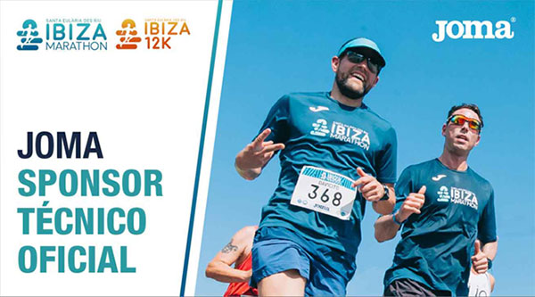 Joma repite patrocinio del Ibiza Maratón