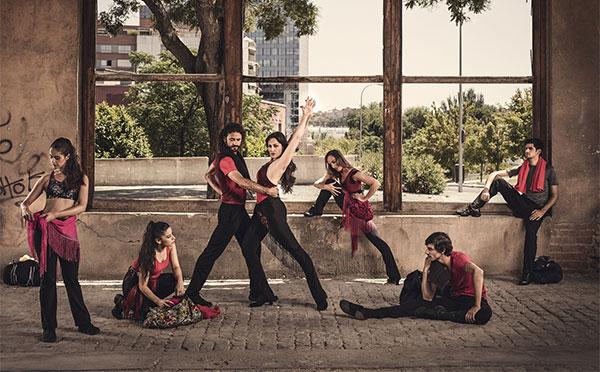 El flamenco de Olefit aterriza en la meca del fitness