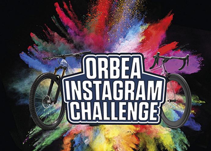 Orbea lanza un reto en Instagram para celebrar sus casi 100.000 seguidores
