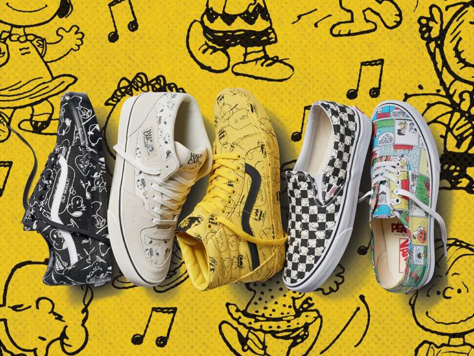Vans se vuelve a aliar con el diseñador de Snoopy en una nueva colección