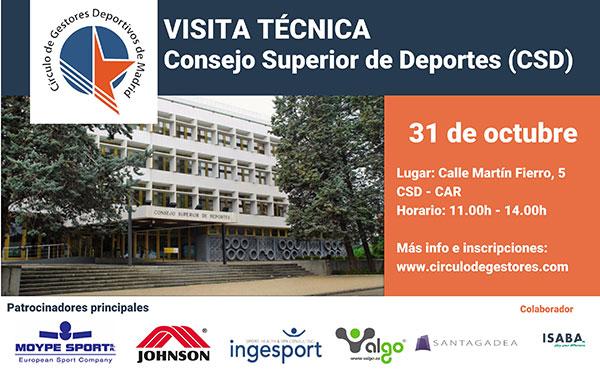 El Círculo de Gestores Deportivos de Madrid se reunirá con el presidente del CSD