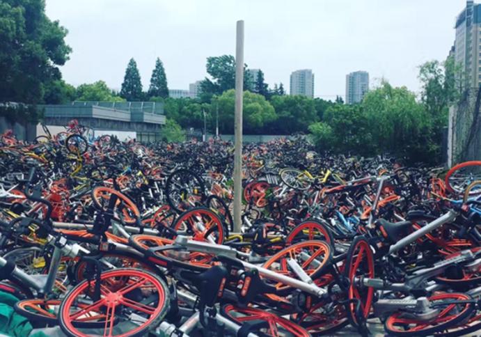 China frena el desarrollo del bike sharing