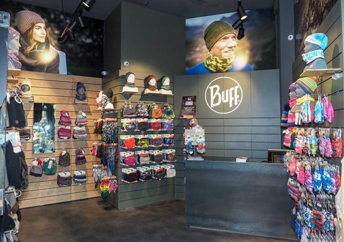Original Buff abre su primera tienda propia en el centro de Barcelona
