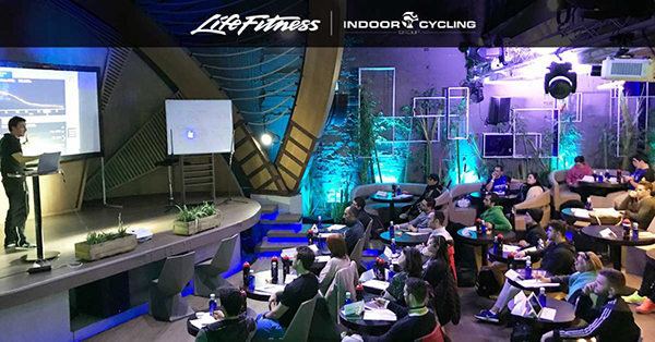 Éxito del seminario ciclo indoor de Life Fitness
