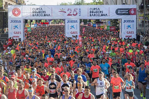 La Cursa de Bombers de Barcelona abre inscripciones