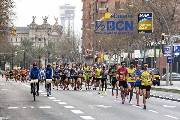 La Mitja de Barcelona ya es de oro