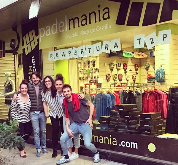 Time2Padel reabre la principal tienda de Padelmanía en Madrid