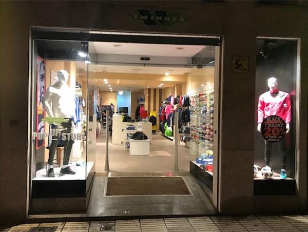 Twinner Running Center arranca la campaña navideña con una tienda pop-up