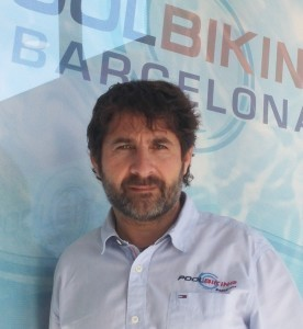 El CEO y fundador de Poolbiking, Ferran Bosque.
