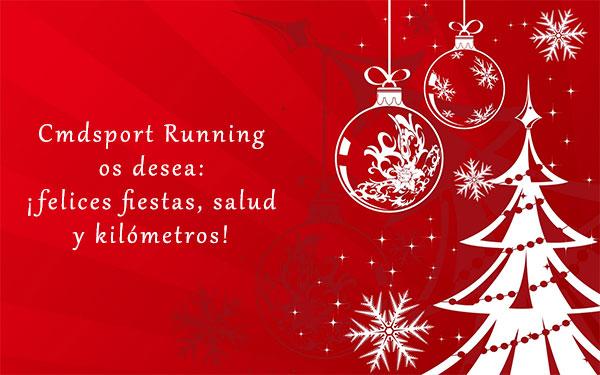 ¡Cmdsport Running os desea una Feliz Navidad 2017!