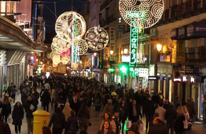 España, a la cabeza de Europa en gasto navideño