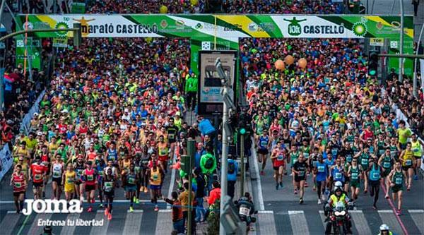 Joma repite como marca técnica del Maratón de Castellón
