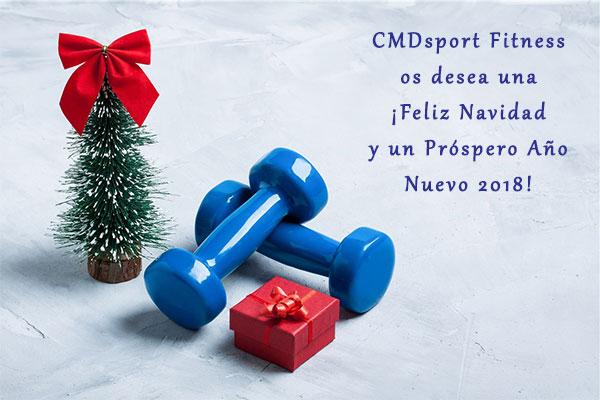 ¡CMDsport Fitness os desea unas Felices Fiestas 2017!