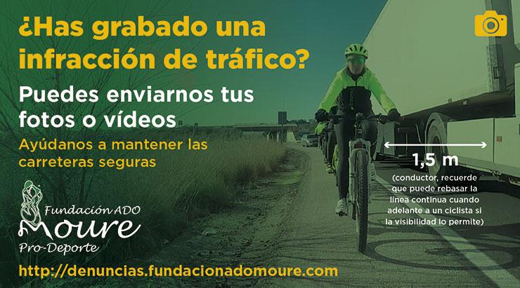 Impulsan una campaña sobre el uso de las videocámaras en bicicletas