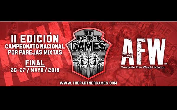 AFW patrocinará The Partner Games 2018