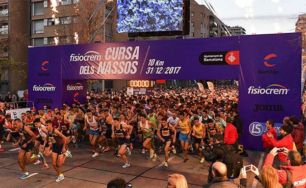 La Cursa dels Nassos de Barcelona devuelve la sonrisa a Ilias Fifa